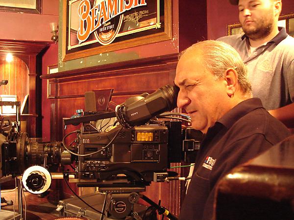 The cameraman, Joe Mandacina.