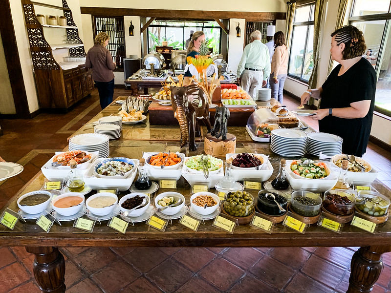 LUNCH BUFFET AT SWEETWATERS CAMP
