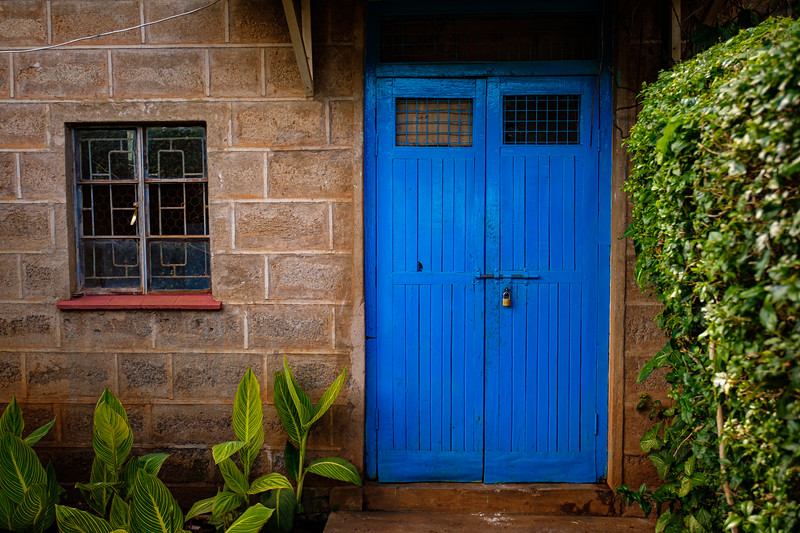 """BLUE DOOR"" AT THE METHODIST FARM"