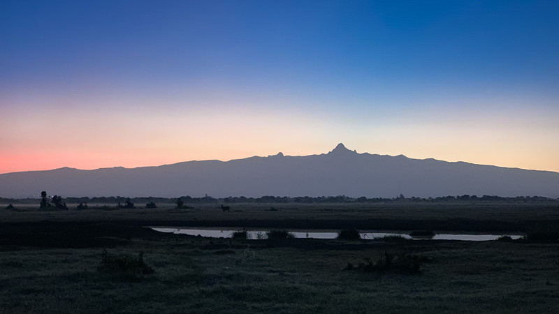 AWAITING MOUNT KENYA SUNRISE