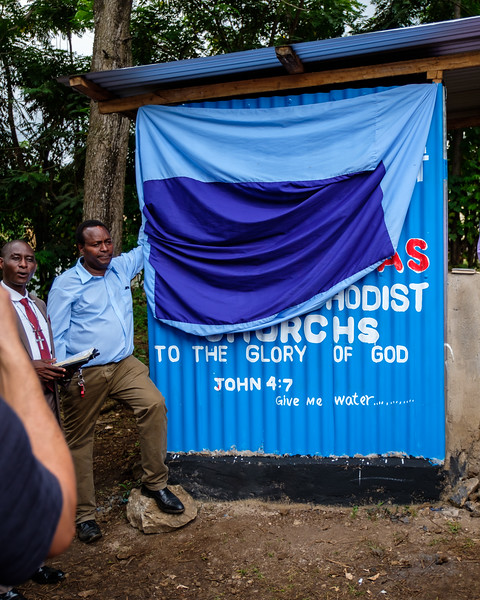 DEDICATION OF THE WATER WELL