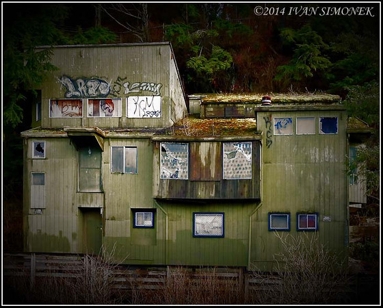 """HAUNTED HOUSE 1"",Ketchikan,Alaska,USA."