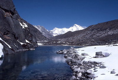 Cho Oyu from the Gokyo Lakes