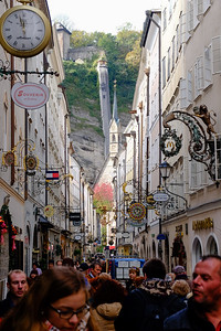 Tourism is the biggest industry in modern-day Salzburg. On any given day, tourists choke the streets of the Altstadt (Old City).