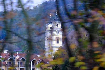 Formerly the monastery church of the Mondsee Abbey, which was founded in 748 AD, The Collegiate Church of St. Michael, Mondsee gained worldwide fame as the church in which the wedding scene between Julie Andrews and Christopher Plummer was filmed for the 1964 motion picture, The Sound of Music.