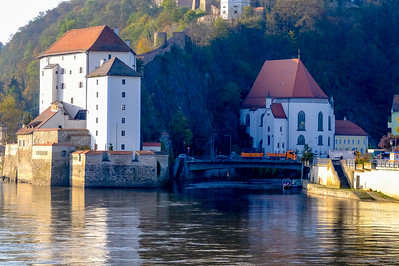"The River Ilz drains into the Danube at Passau, giving the city its nickname, ""Dreiflüssestadt"" or City of Three Rivers."