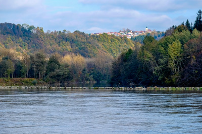 """Most of the """"urbanization"""" along the Danube River isn't very urban. The river is dotted with dozens of small villages, many of them hundreds of years old."""