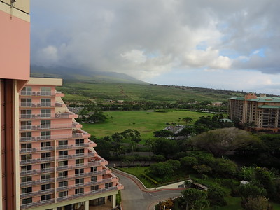 Ka'anapali Beach Club moutain view