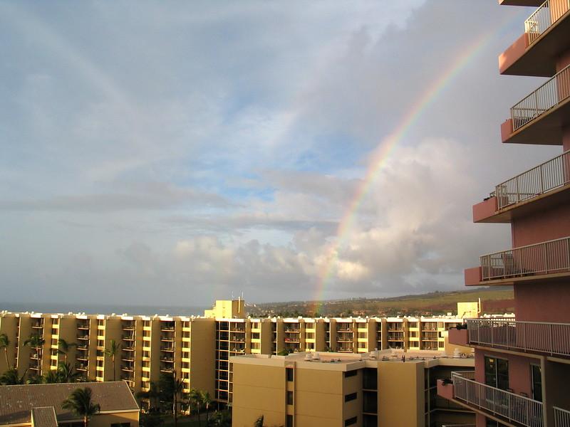 Ka'anapali Beach Club rainbow