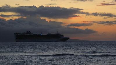 Ka'anapali Beach Club sunset