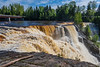 Top of Kakabeka Falls from west bank