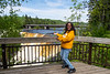 Denise Lantz at Kakabeka Falls
