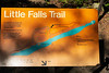 Little Falls Trail sign