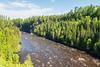 Kaministiquia River below Kakabeka Falls.