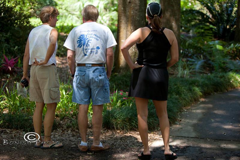 Enjoying the Kanapaha Botanical Gardens in Gainesville Florida - Photo by Pat Bonish