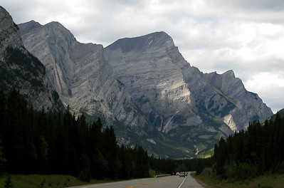 The last range of mountains going north on Highway 40.