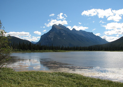 Vermilion Lake just north of town of Banff.
