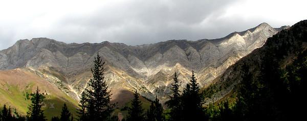 East side mountain.