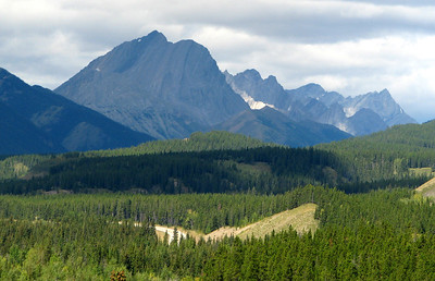 Road to Highwood Pass
