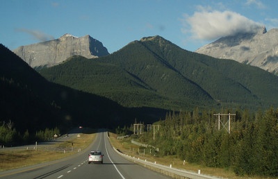Trans-Canada Highway near Canmore.