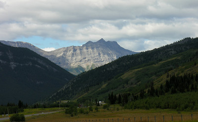 Road into the Kananaskis Country (Highways 541/40)