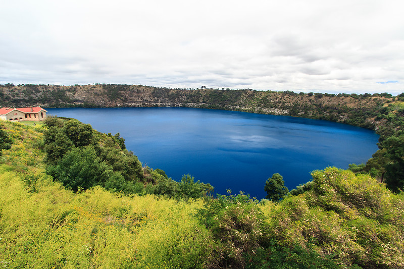 Blue Lake. Mount Gambier