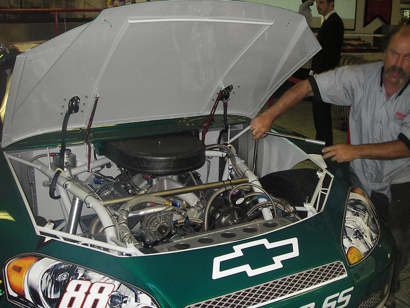 We were there in 2007 as Dale Earnhardt Jr's new #88 was wheeled out of the shop into the display area.