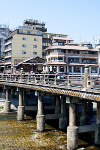 sanjyo oohashi 四条大橋 in Kyoto