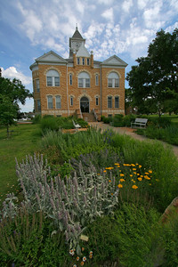 Lincoln County Courthouse, Lincoln, Kansas.