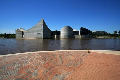 Exploration Place on the Arkansas River, Wichita, Kansas.