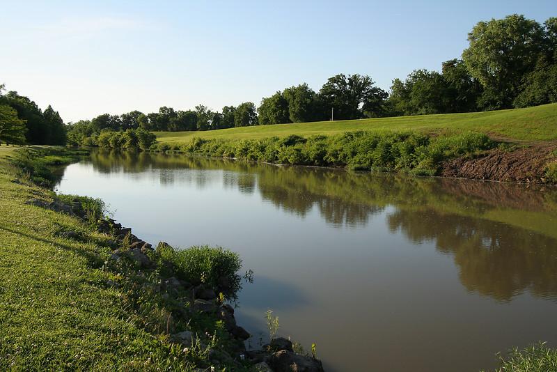River near Council, Kansas.