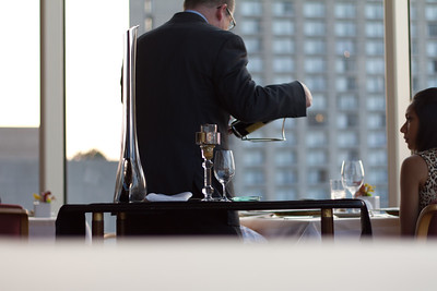 The Sommelier at work.