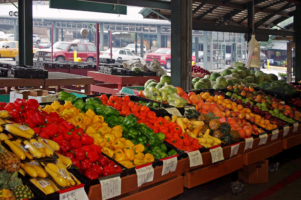 Produce, Farmer's Market, Kansas City, Missouri.