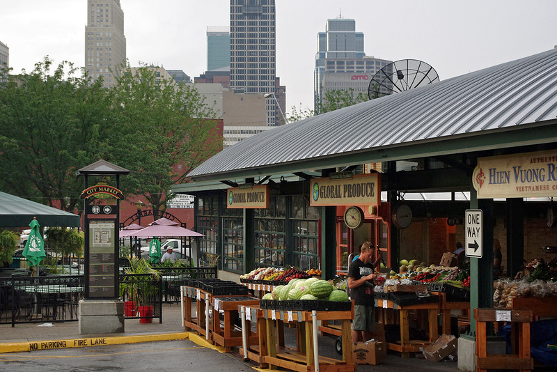 Farmer's Market, Kansas City, Missouri.