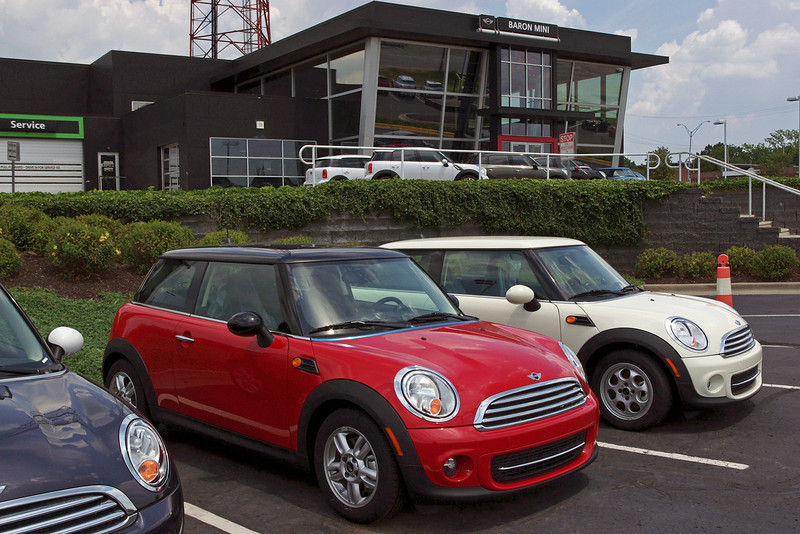 It's time for the MINI Coopers checkup at Baron MINI, Merriam, Kansas.