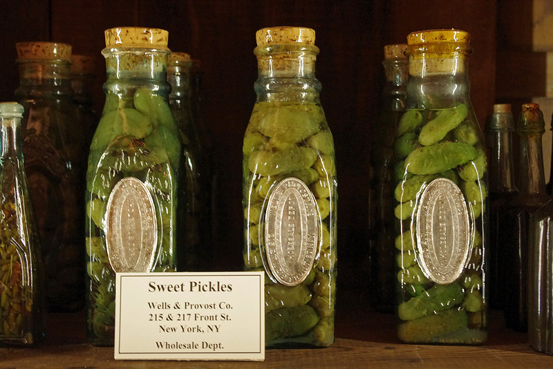They say the pickles are still good, 133 years after sinking to the bottom of the Missouri River.