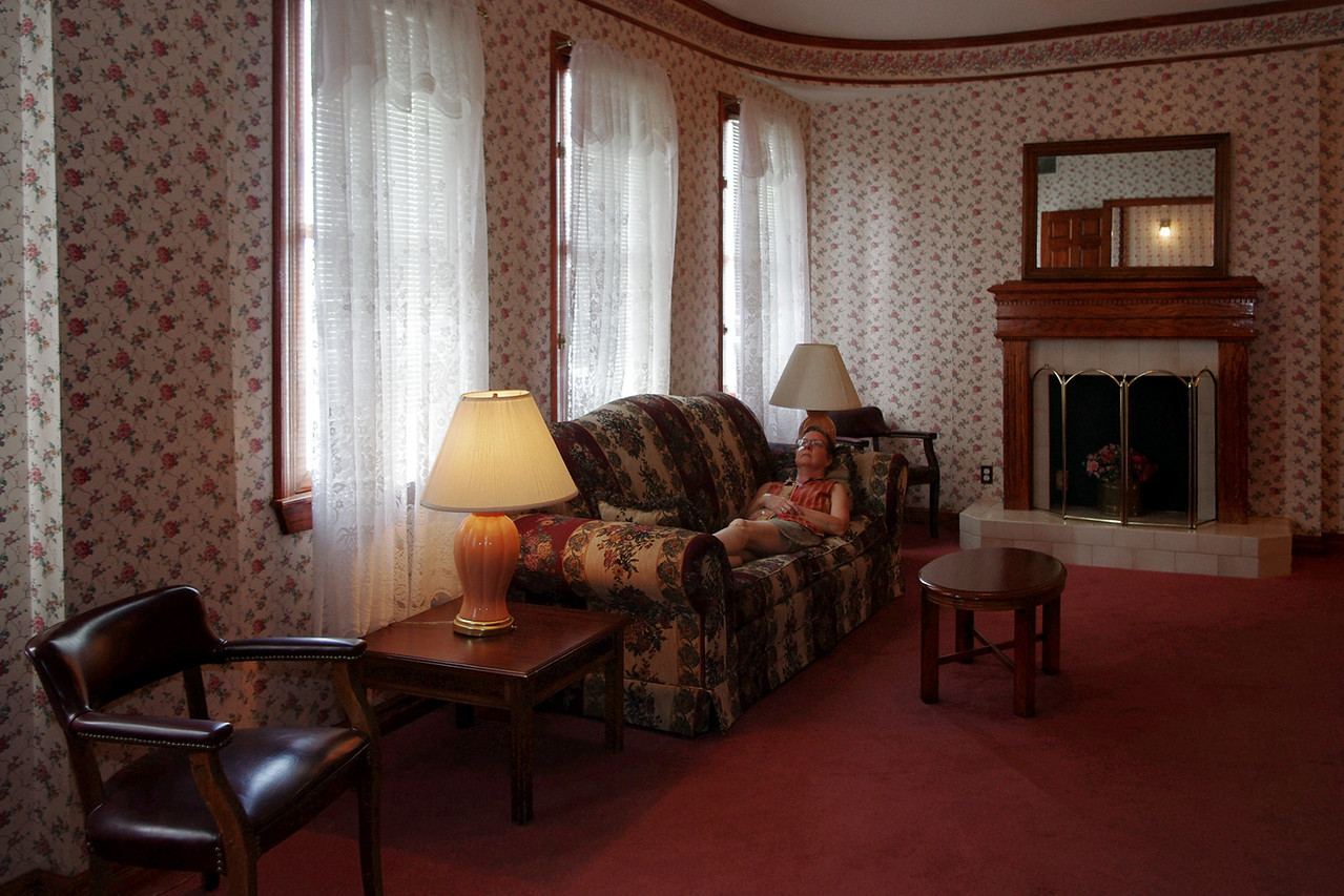 Our suite at the Hotel Savoy, Kansas City, Missouri.
