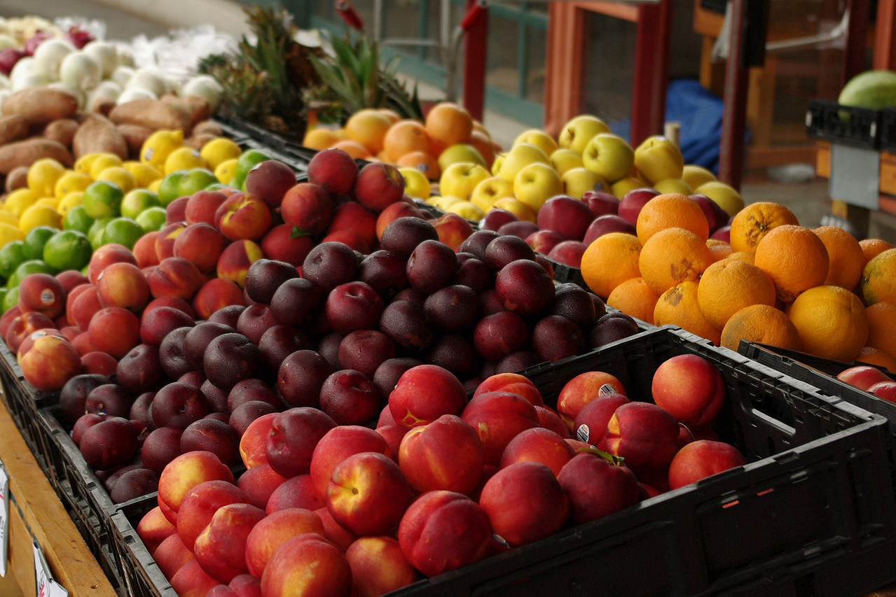 Fruit, Farmer's Market, Kansas City, Missouri.