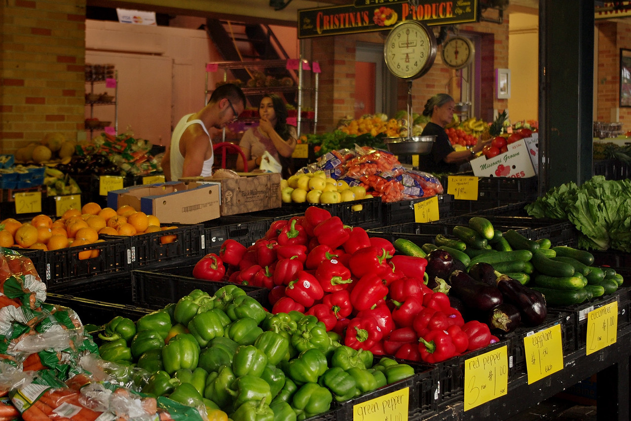 Farmer's Market, Kansas City, Missouri.
