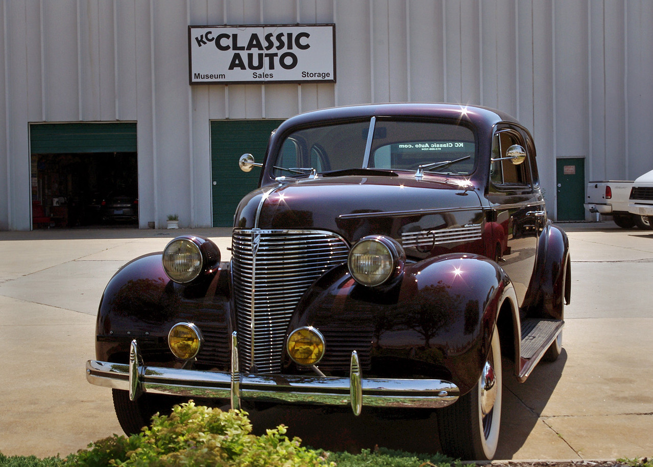 "1939 Chevrolet Master Deluxe Business Coupe. KC Classic Auto, an automobile restoration shop and museum in Lenexa, Kansas.<br /> <br /> For a few more photos of the collection at KC Classic, see:<br /> <br /> <a href=""http://garywright.smugmug.com/MotorCars-akaAutomobiles/KC-Classic-Autos/24742918_dH2dgx"">http://garywright.smugmug.com/MotorCars-akaAutomobiles/KC-Classic-Autos/24742918_dH2dgx</a>"