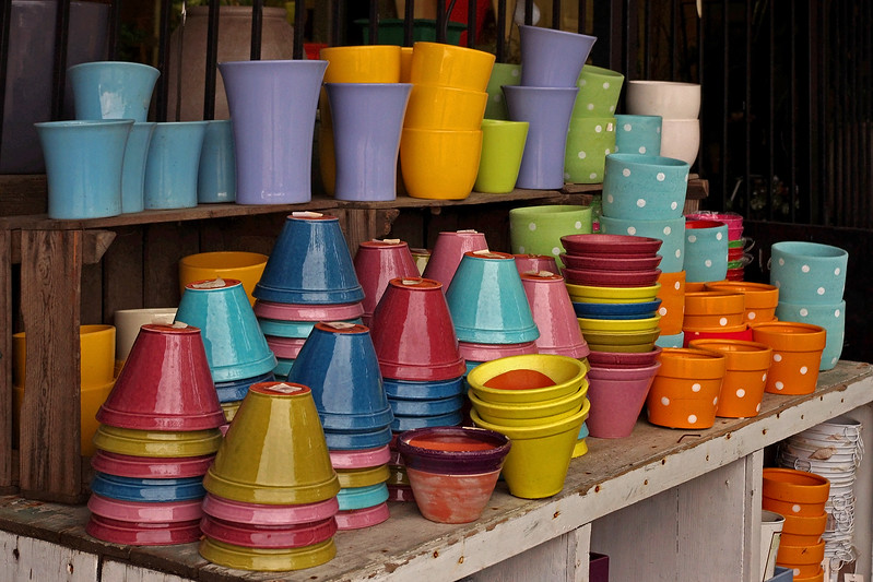 Pottery, Farmer's Market, Kansas City, Missouri.