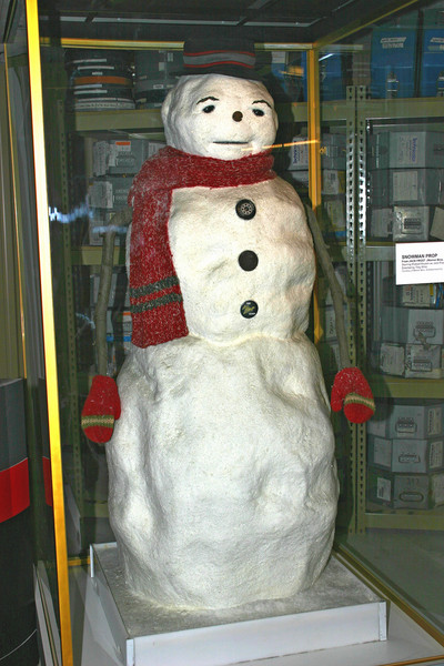 """Snowman from the movie """"Jack Frost."""""""