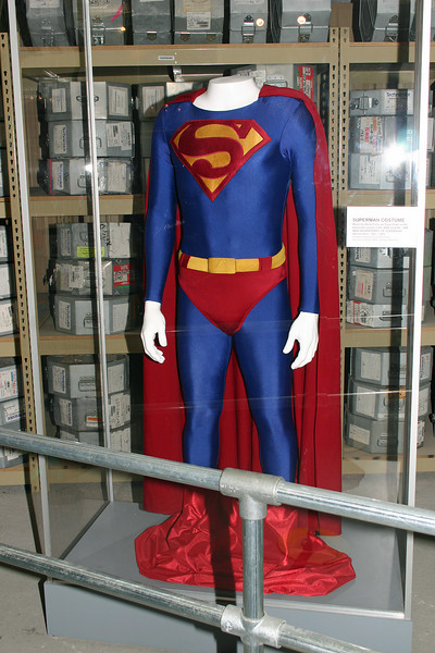"Superman costume worn by Dean Cain in the television series ""Lois and Clark."""