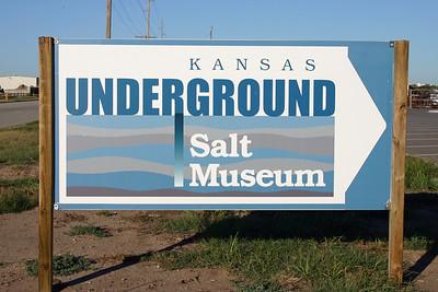 Kansas Underground Salt Mine Museum Tour 2007
