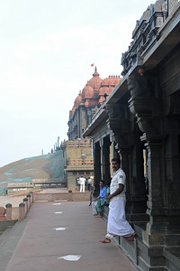 Swami Vivekananda Rock at Kanyakumari, South India.