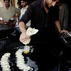 Jelabi sweets, Karachi, Pakistan<br /> scenes of daily life in markets and bazaars in Karachi<br /> (Credit Image: © Chris Kralik/KEYSTONE Press)