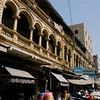 Colonial architecture, Karachi, Pakistan<br /> scenes of daily life in markets and bazaars in Karachi<br /> (Credit Image: © Chris Kralik/KEYSTONE Press)