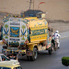 Decorated oil truck,Karachi, Pakistan<br /> scenes of daily life in markets and bazaars in Karachi<br /> (Credit Image: © Chris Kralik/KEYSTONE Press)