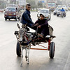 Delivering the steel plate, Karachi, Pakistan<br /> scenes of daily life in markets and bazaars in Karachi<br /> (Credit Image: © Chris Kralik/KEYSTONE Press)