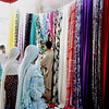 The fabric market, Karachi, Pakistan<br /> scenes of daily life in markets and bazaars in Karachi<br /> (Credit Image: © Chris Kralik/KEYSTONE Press)
